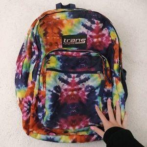 Jansport backpack tie-dye
